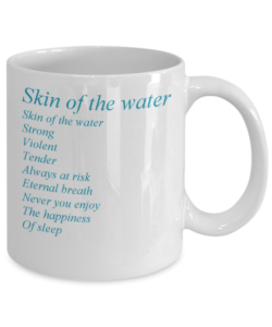 "Wolfgang Sandt, ""Garden of Poetry"" coffee mug, ""Wings"" Get it here! Click!"